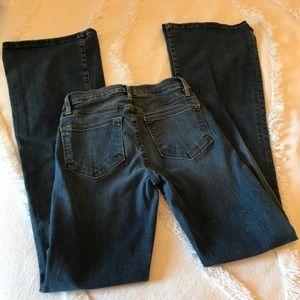Frame Denim Jeans - FRAME LE HIGH FLARE IN SUNSET PLAZA